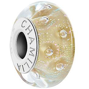 Chamilia Effervesense Prosecco Murano Glass Bead - Product number 4961358