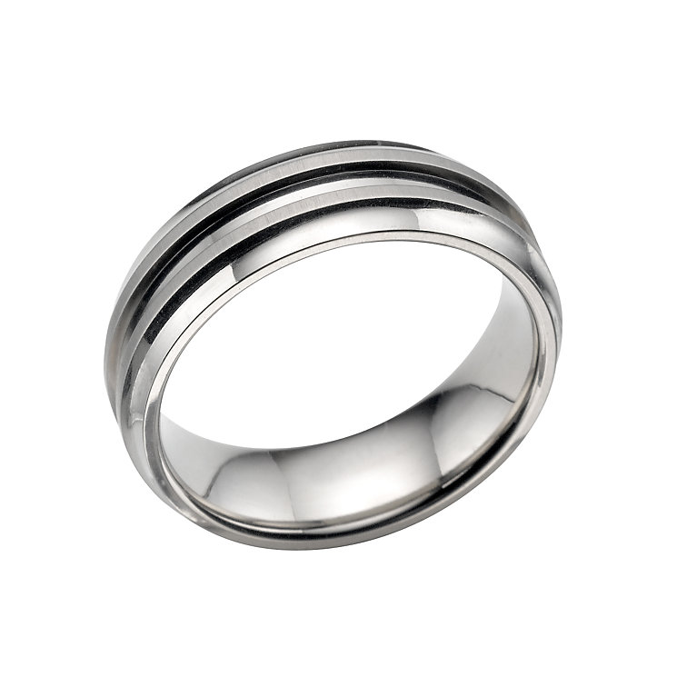 Men's titanium ring - Product number 4962028