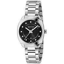 Gucci Ladies' Stainless Steel Stone Set Bracelet Watch - Product number 4963431