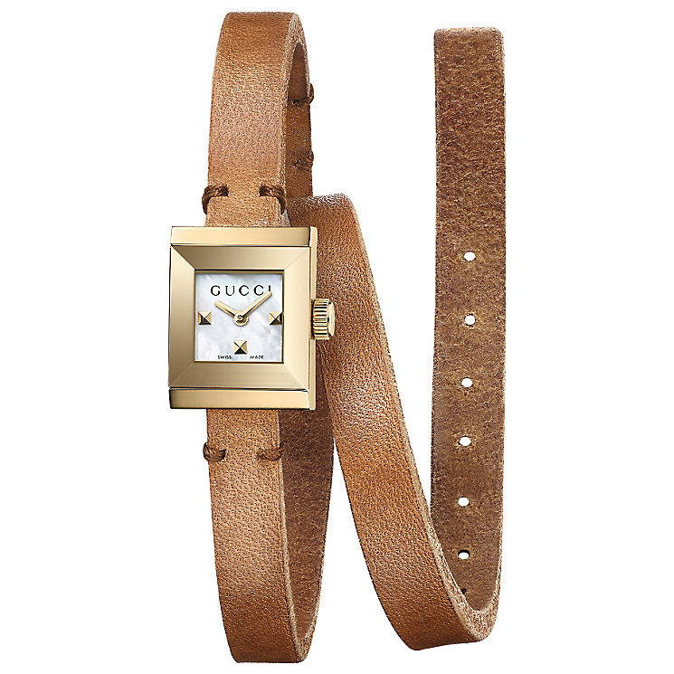 Gucci Ladies' Gold PVD Strap Watch - Product number 4963520
