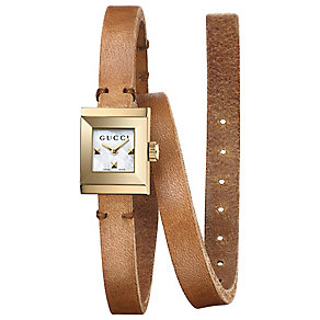 Gucci Ladies' Gold Plated Strap Watch - Product number 4963520