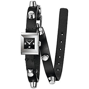 Gucci Ladies' Stainless Steel Wrap Strap Watch - Product number 4963644
