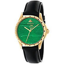 Gucci Ladies' Gold PVD Strap Watch - Product number 4963989