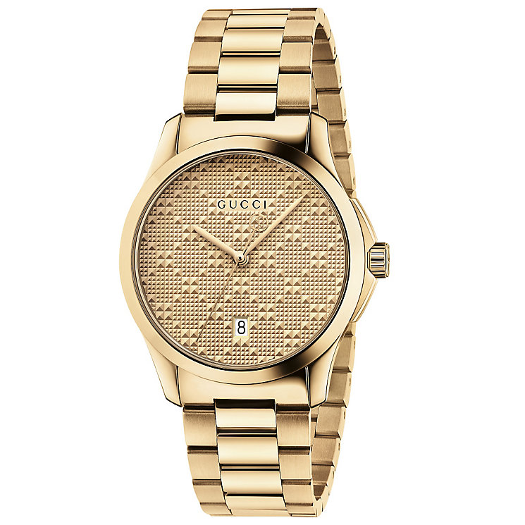Gucci Ladies' Gold PVD Bracelet Watch - Product number 4963997