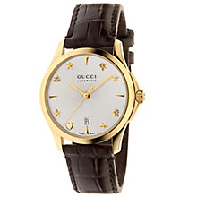 Gucci Ladies' Gold PVD Strap Watch - Product number 4964039