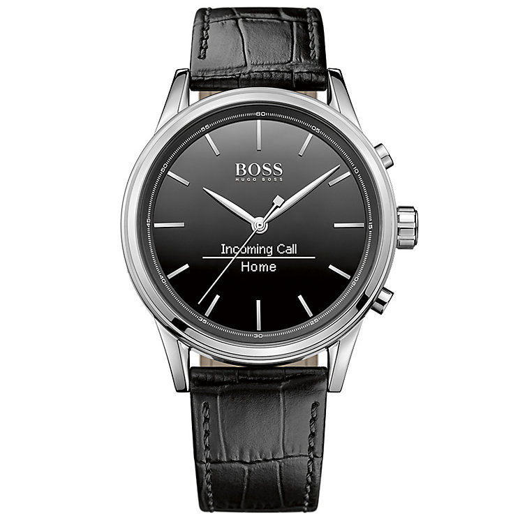 Hugo Boss Men's Stainless Steel Smart Watch - Product number 4966481