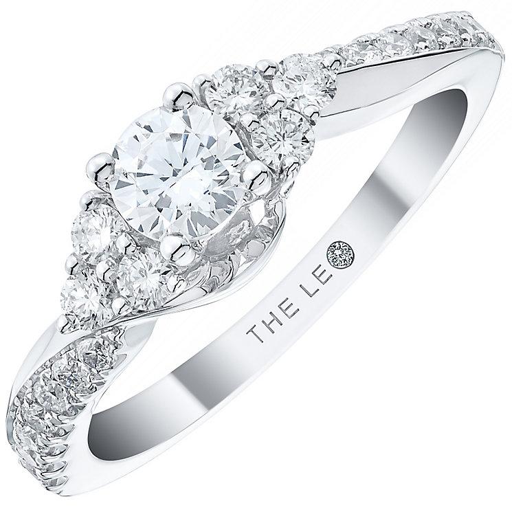 Leo Diamond 18ct White Gold 0.63ct Diamond Ring - Product number 4969030