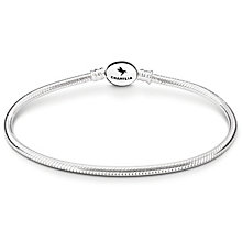 "Chamilia Sterling Silver Oval Snap 7.9"" Bracelet - Product number 4969499"