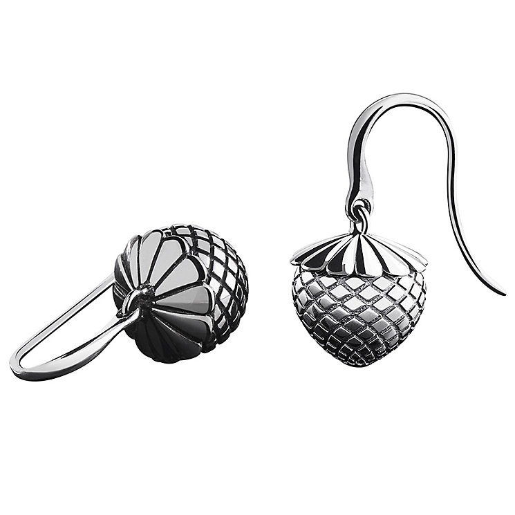 Chamilia Sterling Silver Fruitful Acorn Drop Earrings - Product number 4969529