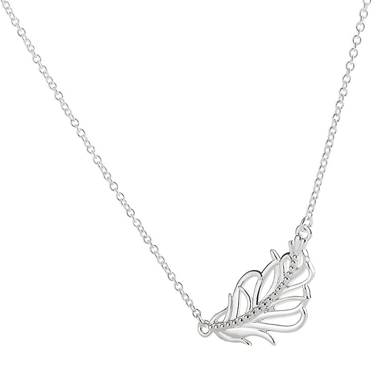 Chamilia Sterling Silver Feather Necklace - Product number 4969626