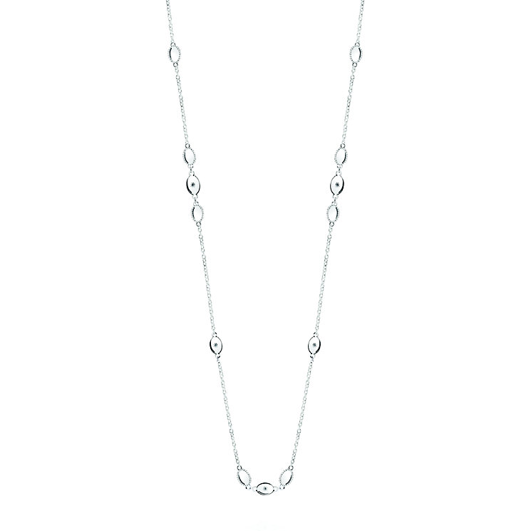 "Chamilia Sterling Silver Oval Long Necklace 32"" - Product number 4969669"