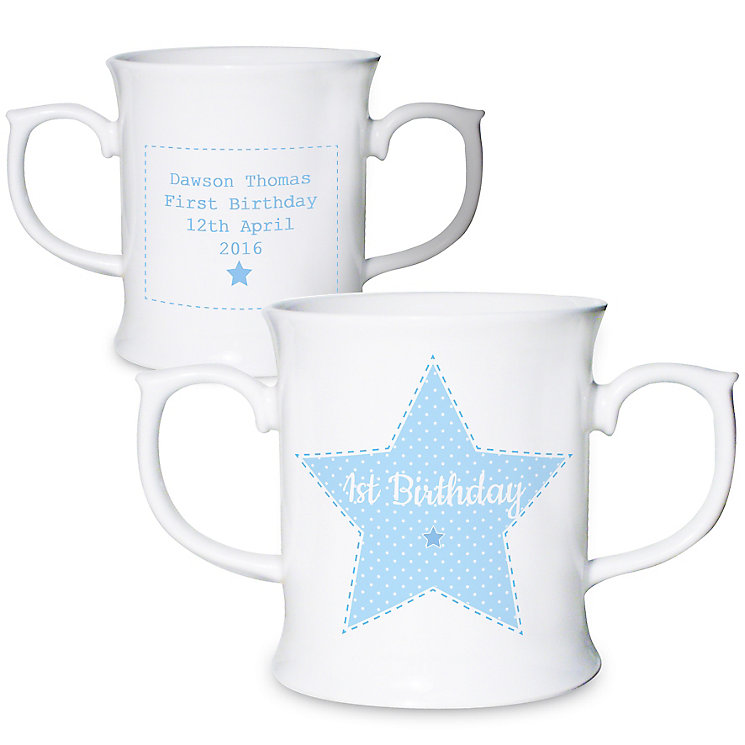 Personalised Stitch & Dot Boys Loving Mug - Product number 4969839