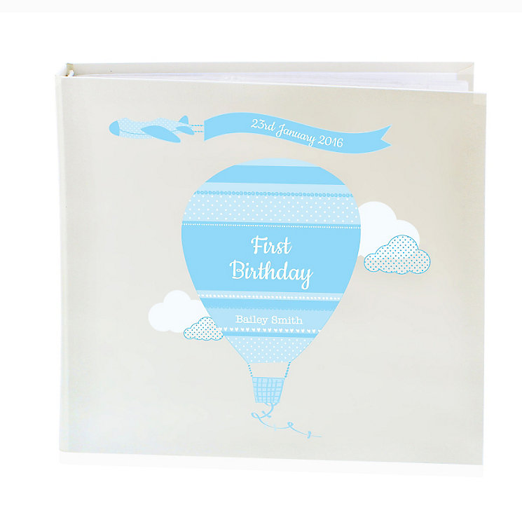 Personalised Up & Away Boys Album with Sleeves - Product number 4970152
