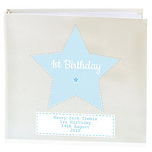 Personalised Stitch & Dot Boys Album with Sleeves - Product number 4970217