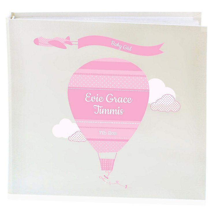 Personalised Up & Away Girls Album with Sleeves - Product number 4970233