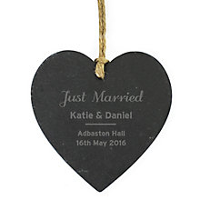 Classic Slate Heart Decoration - Product number 4970292