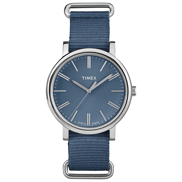 Timex Original Blue Dial Watch - Product number 4970934