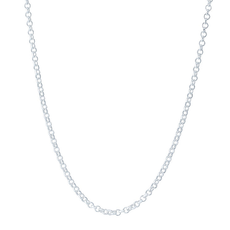 "Sterling Silver 20"" Belcher Chain Necklace - Product number 4975502"