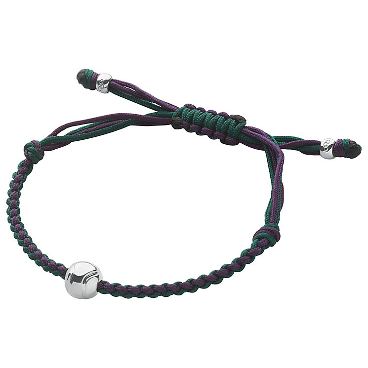 Links Of London Silverwoven Cord Wimbledon Bracelet - Product number 4975782