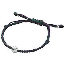 Links Of London Silverwoven Cord Wimbledon Bracelet - Product number 4975782