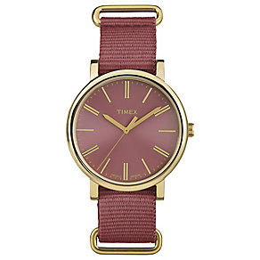 Timex Original Red Dial Watch - Product number 4977963