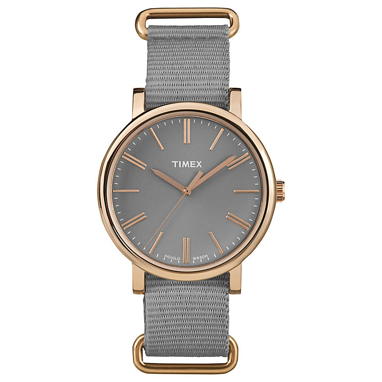 Timex Original Grey Dial Watch - Product number 4977998