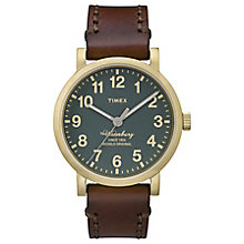 Timex Waterbury Green Dial Watch - Product number 4978048