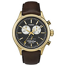 Timex Waterbury Chronograph Black Dial Watch - Product number 4978064