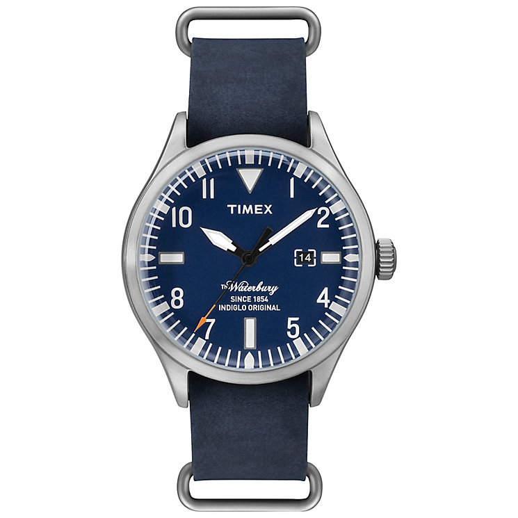 Timex Waterbury Blue Leather Strap - Product number 4978080