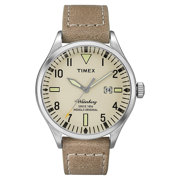 Timex Waterbury Men's Natural Dial Watch - Product number 4978188