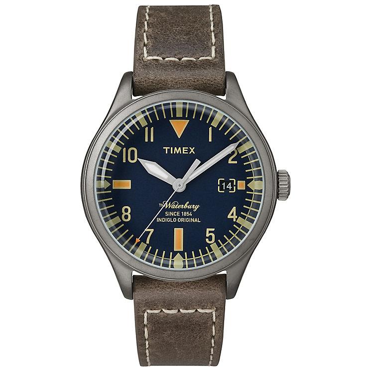 Timex Waterbury Ladie's Blue Dial Watch - Product number 4978455