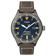 Timex Waterbury Mens Blue Dial Watch - Product number 4978579