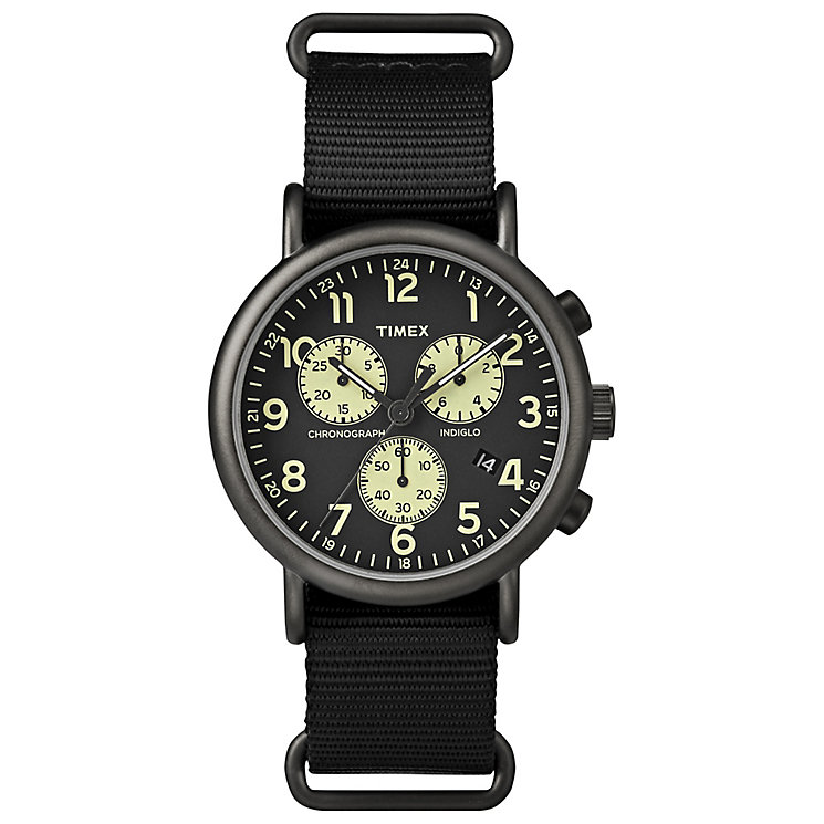 Timex Black Dial Chronograph Watch - Product number 4978714
