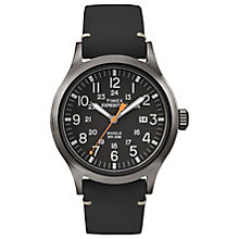 Timex Expedition Scout Men's Black Strap Black Dial Watch - Product number 4978773