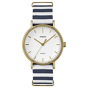 Timex Weekender Fairfield Multi Colour Strap Watch - Product number 4978811