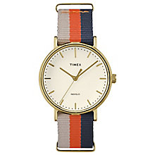 Timex Weekender Fairfield Multi Colour Strap Watch - Product number 4978838