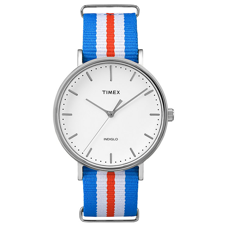 Timex Weekender Fairfield Multi Colour Strap Watch - Product number 4978889