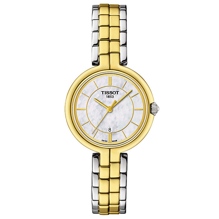 Tissot Ladies' Two Colour Bracelet Watch - Product number 4980247