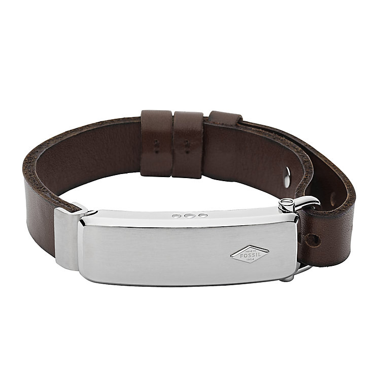 Fossil Q Reveler Men's Dark Brown Leather Activity Tracker - Product number 4981065