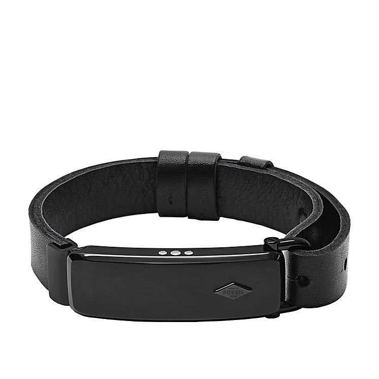 Fossil Q Reveler Men's Black Leather Activity Tracker - Product number 4981073