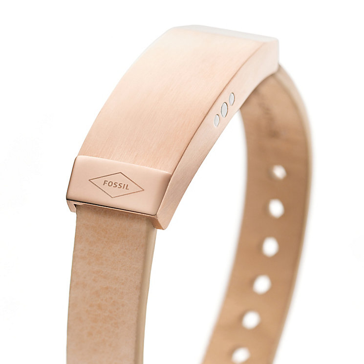 Fossil Q Dreamer Ladies' Sand Leather Activity Tracker - Product number 4981103