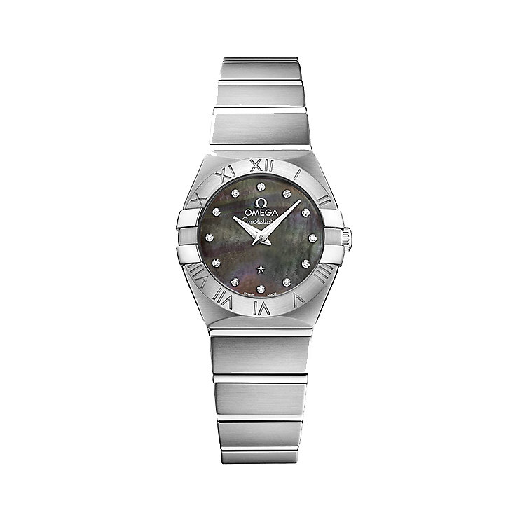 Omega Constellation Quartz Ladies' Bracelet Watch - Product number 4981138