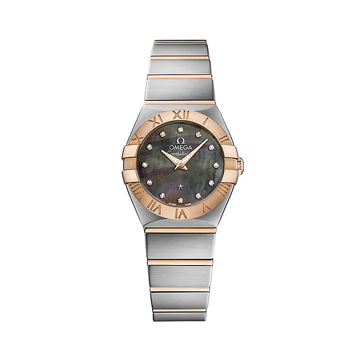 Omega Constellation Quartz Ladies' Bracelet Watch - Product number 4981170