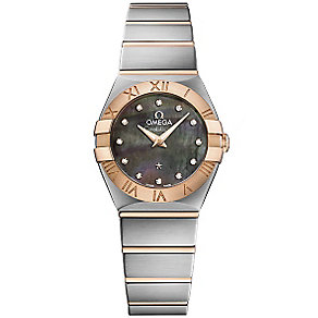Omega Ladies' Two Colour Bracelet Watch - Product number 4981170