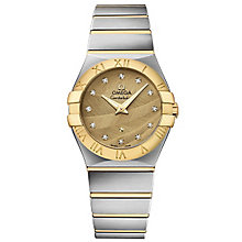 Omega Constellation Quartz Ladies' Bracelet Watch - Product number 4981189
