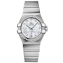 Omega Constellation Ladies' Stainless Steel Bracelet Watch - Product number 4981219