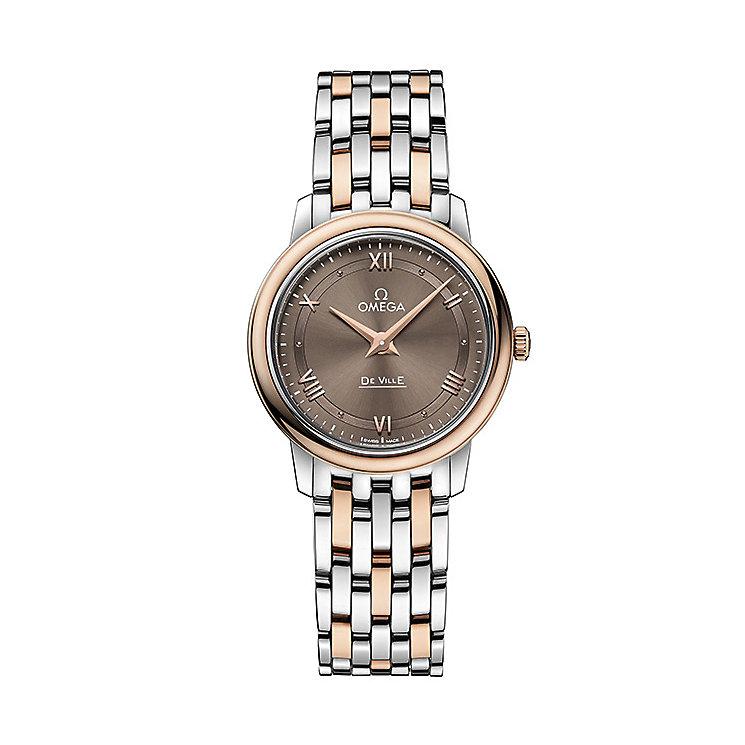 Omega De Ville Prestige Quartz Ladies' Bracelet Watch - Product number 4981251