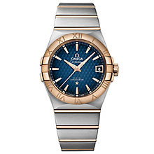 Omega Cosntellation Men's Two Colour Bracelet Watch - Product number 4981286