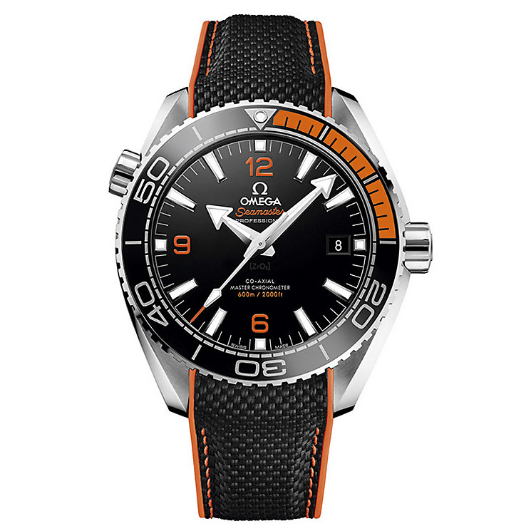 Omega Seamaster Planet Ocean 600m Men's Strap Watch - Product number 4981413