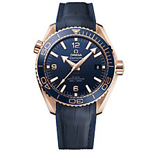 Omega Seamaster Planet Ocean 600m Men's Strap Watch - Product number 4981472